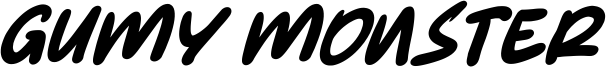 Gumy Monster Font