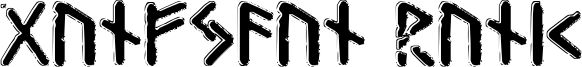 Gunfjaun Runic Font