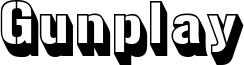 gunplay 3d.ttf