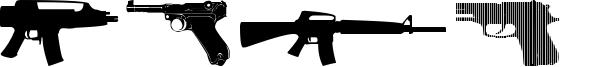 Guns 2 Font