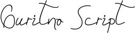 Guritno Script Font