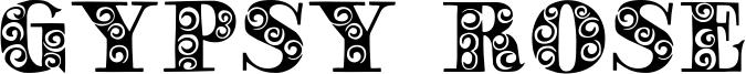 Gypsy Rose Font