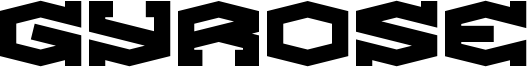 Gyrose Font