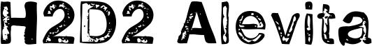 H2D2 Alevita Font