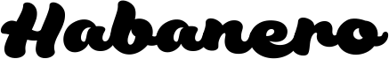 Habanero Font