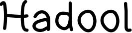 Hadool Font