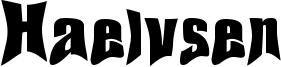 Haelvsen Font
