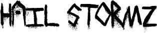 Hail Stormz Font