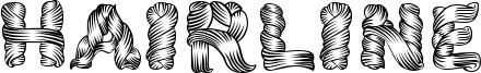Hairline Font