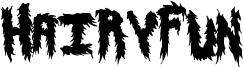 HairyFun Font