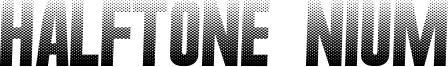 Halftone Nium Font