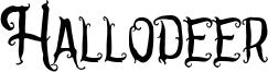 Hallodeer Font