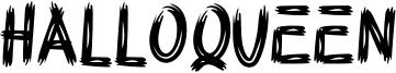 Halloqueen Font