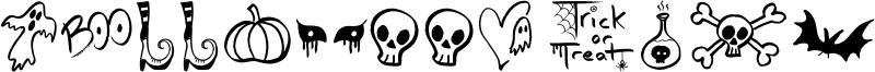 Halloween Spirits Font