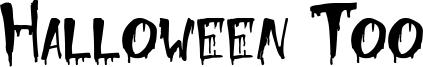 Halloween Too Font