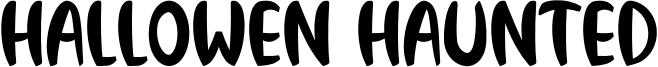 Hallowen Haunted Font