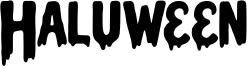Haluween Font