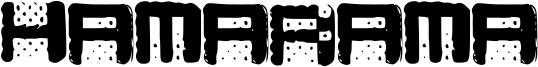 Hamarama Font