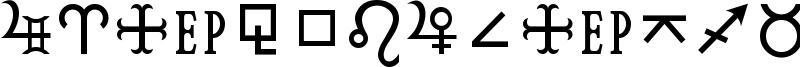 HamburgSymbols Font