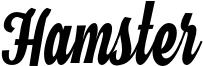 Hamster Font