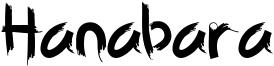 Hanabara Font