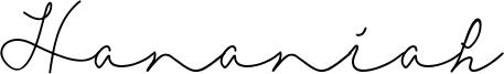 Hananiah Font