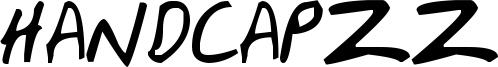 HandCapzz Font