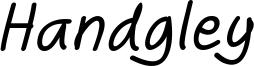 Handgley Italic.otf