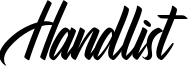 Handlist Font