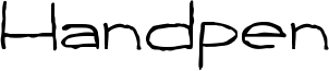 Handpen Font