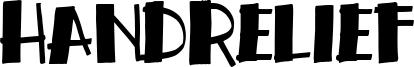 Handrelief Font