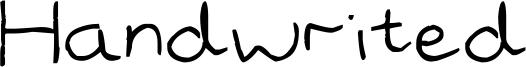 Handwrited Font