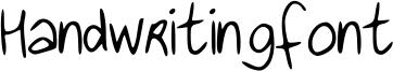 Handwritingfont Font