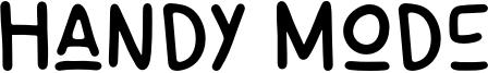 Handy Mode Font