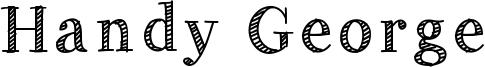 Handy George Font