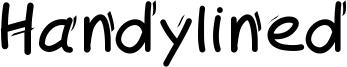 Handylined Font