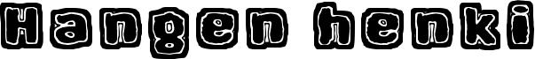 Hangen henki Font