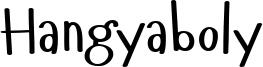Hangyaboly Font