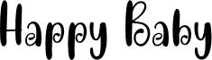 Happy Baby Font