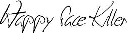 Happy Face Killer Font