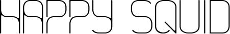 Happy Squid Font