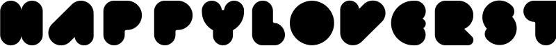 Happyloverstown.eu Fatlove Font