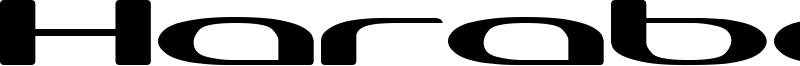 Harabara Neo Font