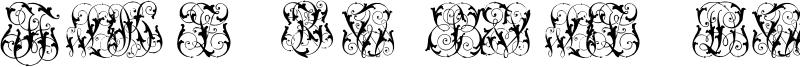 Hard to Read Monograms Two.otf