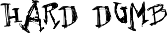 Hard Dumb Font