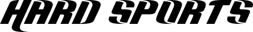 Hard Sports Font