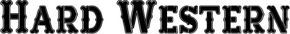 Hard Western Font