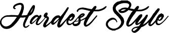 Hardest Style Font