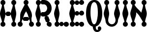 Harlequin Font