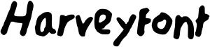 Harveyfont Font